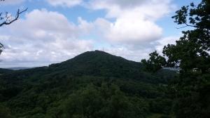 The Wrekin viewed from Ercall